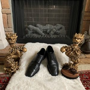 Gucci Black Classic Dress Oxford Shoes